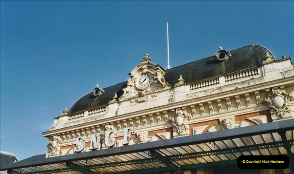 May 2001 France & Corsica. (357) Nice, Lille France & London Waterloo.  356