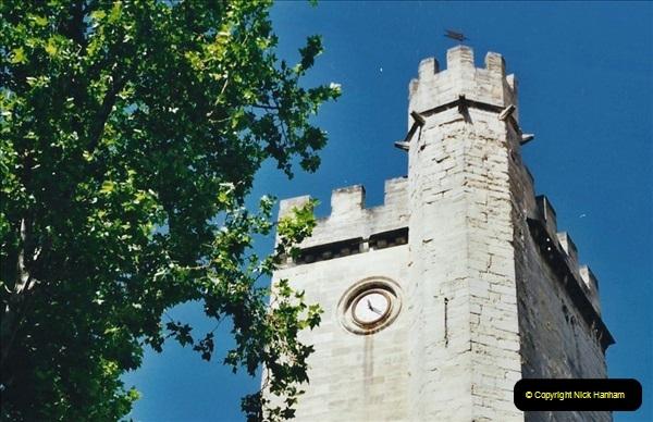 May 2001 France & Corsica. (39) Avignon France. 039