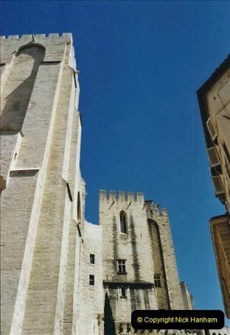 May 2001 France & Corsica. (42) Avignon France. 042