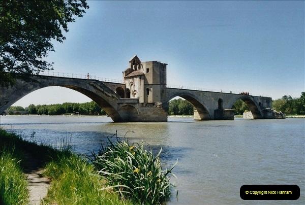May 2001 France & Corsica. (54) Avignon France. 054