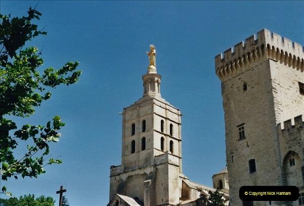 May 2001 France & Corsica. (66) Avignon France. 066