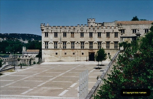 May 2001 France & Corsica. (67) Avignon France. 067