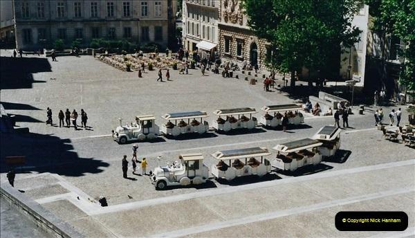 May 2001 France & Corsica. (70) Avignon France. 070