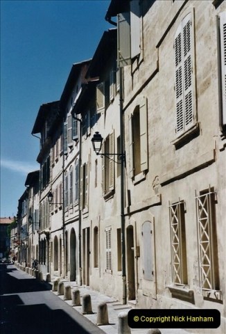 May 2001 France & Corsica. (73) Avignon France. 073