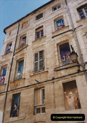 May 2001 France & Corsica. (76) Avignon France. 076