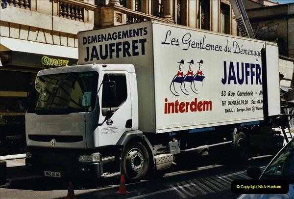May 2001 France & Corsica. (84) Avignon France. 084