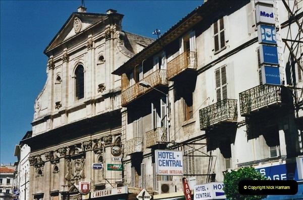 May 2001 France & Corsica. (86) Avignon France. 086