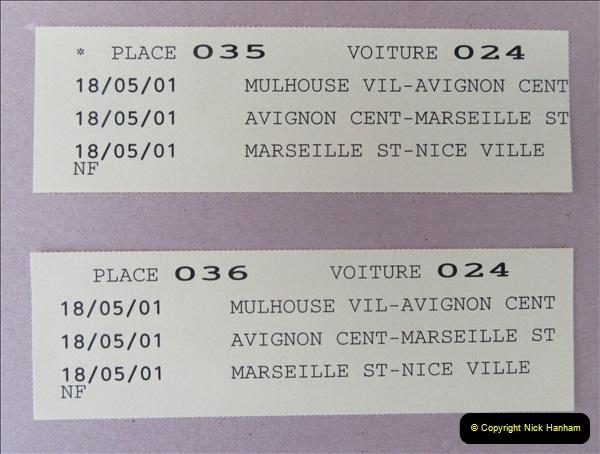 May 2001 France & Corsica. (88) Avignon to Marseille France. 088