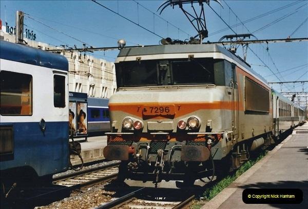 May 2001 France & Corsica. (90) Avignon to Marseille France. 090