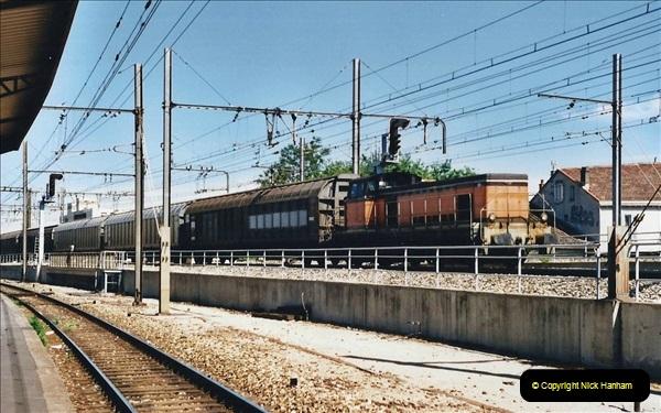 May 2001 France & Corsica. (92) Avignon to Marseille France. 092
