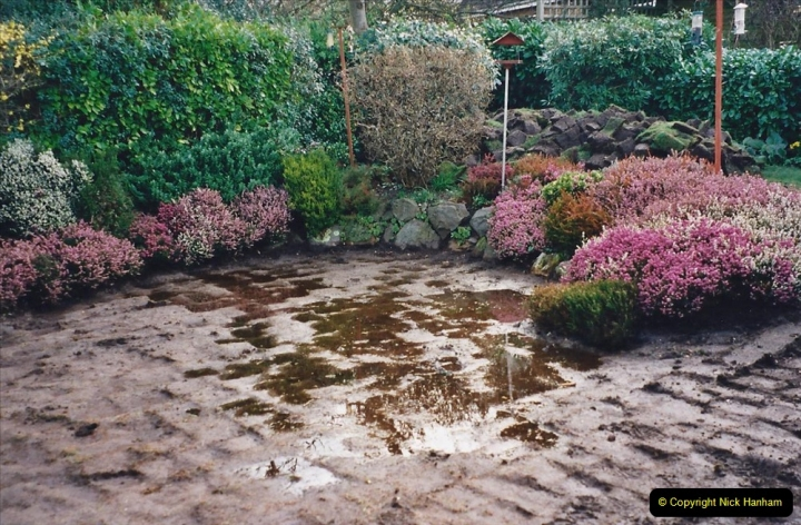 2001 Garden improvements at my Wifes cousins by your Host. Garden designed by my Wife's cousin.  (11) 11