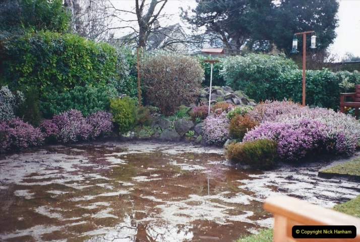 2001 Garden improvements at my Wifes cousins by your Host. Garden designed by my Wife's cousin.  (12) 12