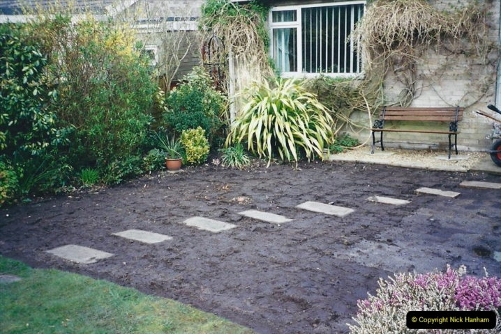 2001 Garden improvements at my Wifes cousins by your Host. Garden designed by my Wife's cousin.  (14) 14