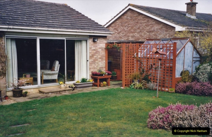2001 Garden improvements at my Wifes cousins by your Host. Garden designed by my Wife's cousin.  (3) 03