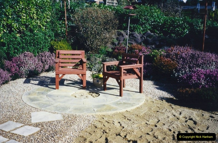 2001 Garden improvements at my Wifes cousins by your Host. Garden designed by my Wife's cousin.  (34) 34