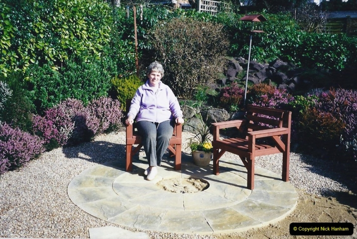 2001 Garden improvements at my Wifes cousins by your Host. Garden designed by my Wife's cousin.  (36) 36