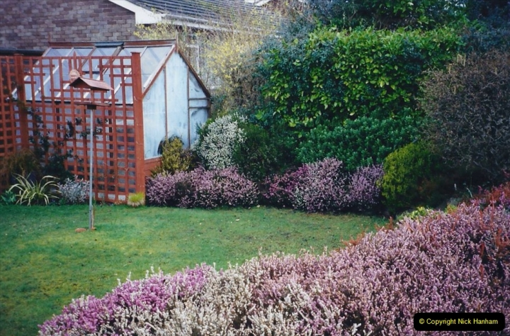 2001 Garden improvements at my Wifes cousins by your Host. Garden designed by my Wife's cousin.  (4) 04