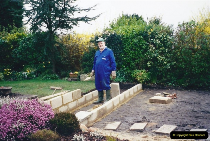 2001 Garden improvements at my Wifes cousins by your Host. Garden designed by my Wife's cousin.  (41) 41