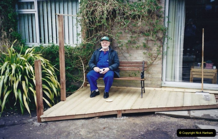 2001 Garden improvements at my Wifes cousins by your Host. Garden designed by my Wife's cousin.  (48) 48