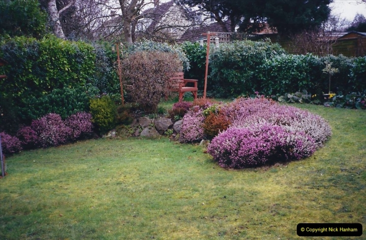 2001 Garden improvements at my Wifes cousins by your Host. Garden designed by my Wife's cousin.  (5) 05