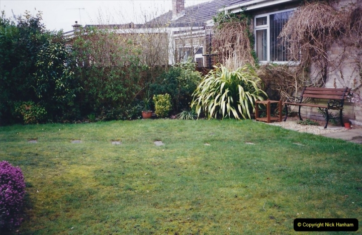 2001 Garden improvements at my Wifes cousins by your Host. Garden designed by my Wife's cousin.  (6) 06