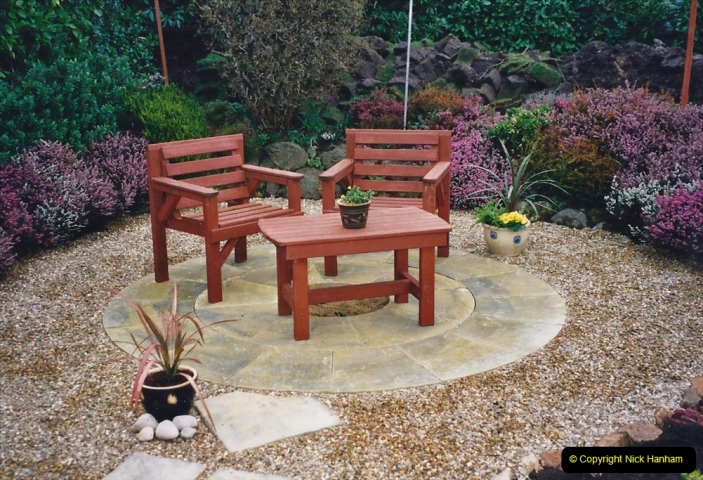 2001 Garden improvements at my Wifes cousins by your Host. Garden designed by my Wife's cousin.  (60) 60