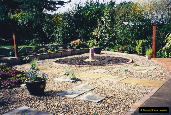 2001 Garden improvements at my Wifes cousins by your Host. Garden designed by my Wife's cousin.  (62) 62