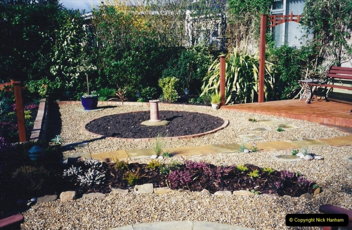 2001 Garden improvements at my Wifes cousins by your Host. Garden designed by my Wife's cousin.  (63) 63