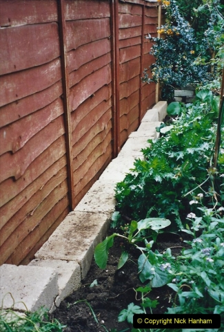 2001 Garden improvements at my Wifes cousins by your Host. Garden designed by my Wife's cousin.  (71) 71