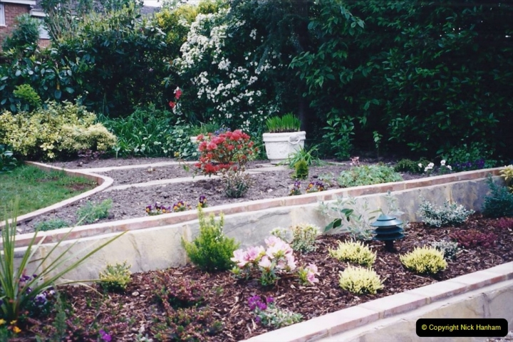 2001 Garden improvements at my Wifes cousins by your Host. Garden designed by my Wife's cousin.  (79) 79