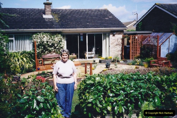 2001 Garden improvements at my Wifes cousins by your Host. Garden designed by my Wife's cousin.  (82) Job done.82