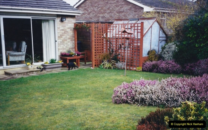 2001 Garden improvements at my Wifes cousins by your Host. Garden designed by my Wife's cousin.  (83) Other views of development. 83