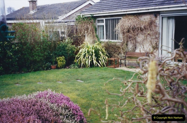 2001 Garden improvements at my Wifes cousins by your Host. Garden designed by my Wife's cousin.  (87) Other views of development. 87