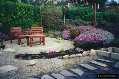 2001 Garden improvements at my Wifes cousins by your Host. Garden designed by my Wife's cousin.  (39) 39