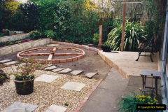 2001 Garden improvements at my Wifes cousins by your Host. Garden designed by my Wife's cousin.  (55) 55
