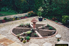 2001 Garden improvements at my Wifes cousins by your Host. Garden designed by my Wife's cousin.  (64) 64
