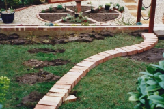 2001 Garden improvements at my Wifes cousins by your Host. Garden designed by my Wife's cousin.  (68) 68