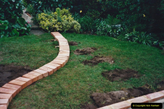 2001 Garden improvements at my Wifes cousins by your Host. Garden designed by my Wife's cousin.  (69) 69