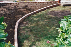 2001 Garden improvements at my Wifes cousins by your Host. Garden designed by my Wife's cousin.  (72) 72