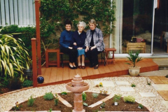 2001 Garden improvements at my Wifes cousins by your Host. Garden designed by my Wife's cousin.  (73) 73