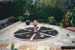 2001 Garden improvements at my Wifes cousins by your Host. Garden designed by my Wife's cousin.  (78) 78