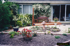 2001 Garden improvements at my Wifes cousins by your Host. Garden designed by my Wife's cousin.  (81) 81
