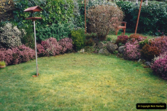 2001 Garden improvements at my Wifes cousins by your Host. Garden designed by my Wife's cousin.  (84) Other views of development. 84
