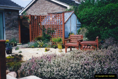 2001 Garden improvements at my Wifes cousins by your Host. Garden designed by my Wife's cousin.  (85) Other views of development. 85