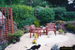 2001 Garden improvements at my Wifes cousins by your Host. Garden designed by my Wife's cousin.  (86) Other views of development. 86