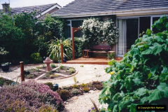 2001 Garden improvements at my Wifes cousins by your Host. Garden designed by my Wife's cousin.  (89) Other views of development. 89