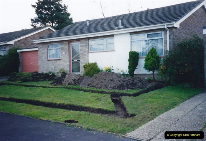Retrospective 2002 Garden improvements at my Wife's cousins by your Host. Garden designed by my Wife's Cousin. (15) 16