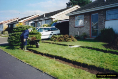 Retrospective 2002 Garden improvements at my Wife's cousins by your Host. Garden designed by my Wife's Cousin. (10) 11
