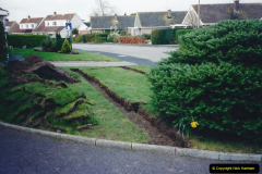 Retrospective 2002 Garden improvements at my Wife's cousins by your Host. Garden designed by my Wife's Cousin. (12) 13
