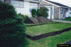 Retrospective 2002 Garden improvements at my Wife's cousins by your Host. Garden designed by my Wife's Cousin. (13) 14